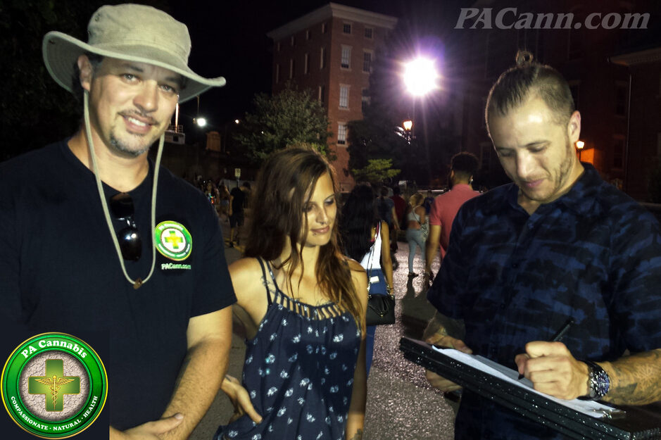 pa cannabis gathering signatures for our medical marijuana dispensary in the Lehigh Valley